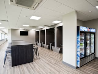 Britvic Hub:  Commercial Spaces by Lisa Melvin Design