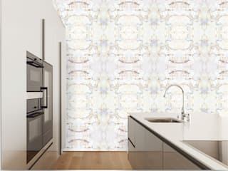 TAPETA LAPIS: styl , w kategorii Ściany i podłogi zaprojektowany przez Eclectic Living,