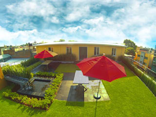 Azoteas Verdes Modern balcony, veranda & terrace