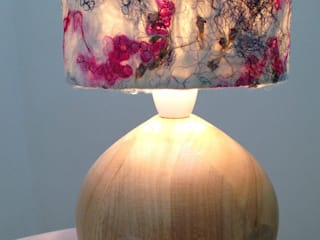 Organic light shades: rustic  by Wendy Ann Stanger, Rustic