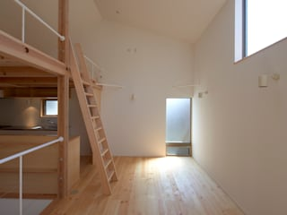 moderne Eetkamer door (有)菰田建築設計事務所