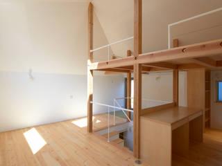 moderne Woonkamer door (有)菰田建築設計事務所