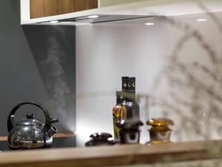 Mieszkanie - Warszawa - 45 m2: styl , w kategorii Kuchnia zaprojektowany przez Mprojekt