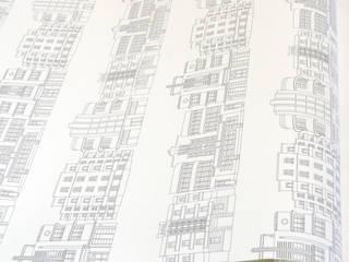 Deco Building Wallpaper Joanna Corney Walls & flooringWallpaper