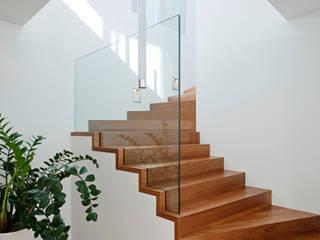 Koridor & Tangga Modern Oleh Moser Architects Modern