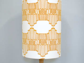 Ornamental Wave Lampshade:   by Joanna Corney