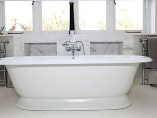 Drummonds Case Study: Tudor House, Roehampton Drummonds Bathrooms BathroomBathtubs & showers