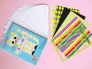 Schablonella Postkarte Kätzchen Set:   von team kasimir