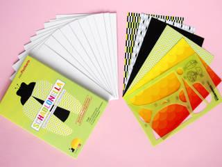 Schablonella Postkarte Käfer Set:   von team kasimir