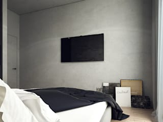 Bedroom by Projecto2, Minimalist