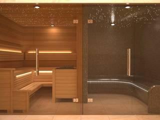 Steam and Sauna Design & Installation. Spas de estilo moderno de Nordic Saunas and Steam Moderno