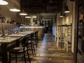 Officina 34 Gastronomia in stile industrial di DLA design_lab Industrial