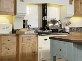 Character oak kitchen Churchwood Design Кухня