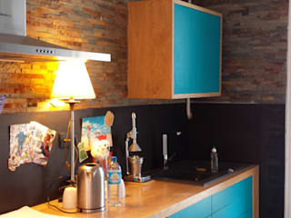 Industrial style kitchen by My First Cabane Industrial