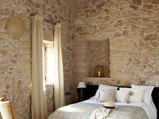 Dormitorios de estilo rústico por Deu i Deu