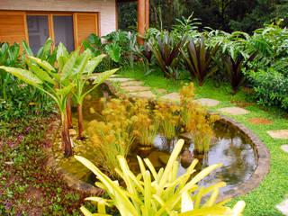 Jardines de estilo tropical de Gil Fialho Paisagismo Tropical