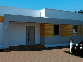 Small house in Ukraine: Дома в . Автор – KARYADESIGN architecture studio