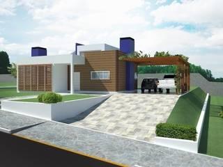 RESIDÊNCIA MONTEREY Casas modernas por Tuti Arquitetura e Inovação Moderno