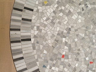 Berthold Müller Mosaic Table:   by Diagonal Furniture