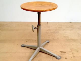 "Friso Kramer ""Doe Meer"" Swivel Stool:   by Diagonal Furniture"