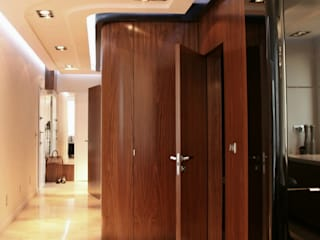 apartament w Krakowie: styl , w kategorii Korytarz, przedpokój zaprojektowany przez dot.projekt