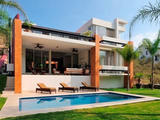 RESIDENCIA NUÑO Casas modernas de Excelencia en Diseño Moderno