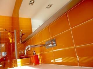 łazienka dla nastolatków - projekt i wykonanie Anyform Nowoczesna łazienka od anyform Nowoczesny