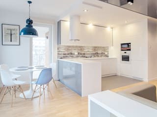 Scandinavian style kitchen by DK architektura wnętrz Scandinavian