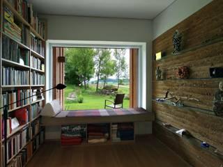 zauner I architektur Minimalist Çalışma Odası