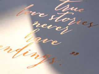 Foil Print (True love stories):   by Ava & Bea