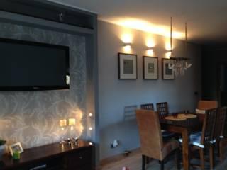 mieszkanie 03: styl , w kategorii Salon zaprojektowany przez ARTEFEKT