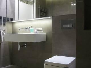 łazienka 02: styl , w kategorii Łazienka zaprojektowany przez ARTEFEKT