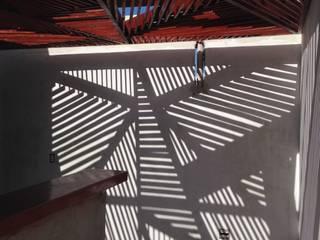 Projekty,  Taras zaprojektowane przez Raquel Pelosi Arquitetura e Design Visual