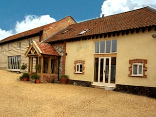 Completed Barn Conversion:   by Clayland Architects