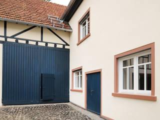 Außenfassade, Hinterhof:  Häuser von Baugeschäft Heckelsmüller