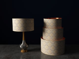 Luxury Drum Lampshades: modern  by Mockbee and Co, Modern