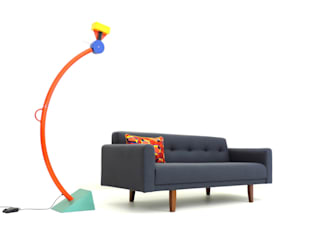 BLOC Sofa by Hopper + Space - Contemporary furniture influenced by midcentury design : modern  by Hopper + Space , Modern