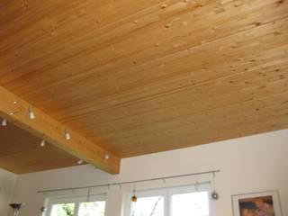 Einfamilienhaus in Holzrahmenbauweise Holzbau Krampe GmbH & Co.KG WohnzimmerAccessoires und Dekoration