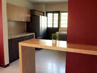 Amarillo Interiorismo KitchenCabinets & shelves