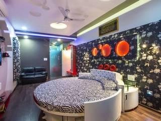 Mr Mulla Residence Modern style bedroom by Srujan Interiors & Architects Pvt Ltd Modern