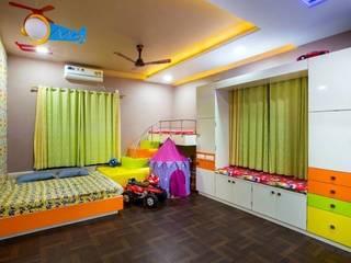 Mr Mulla Residence Modern nursery/kids room by Srujan Interiors & Architects Pvt Ltd Modern