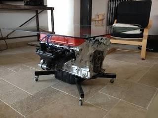 Table basse moteur 1200€:  de style  par s2d atelier