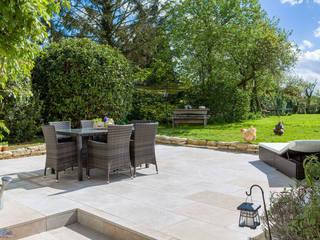 Patio view: modern Garden by Katie Malik Interiors