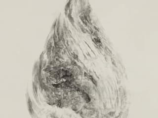 Breath of  Traces, ,116x62cm, korean paper on muk, 2012: 흔적찾기 프로젝트의