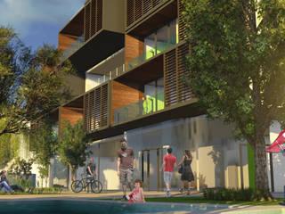 Cogito, Eco Sum! Edificio NZEB - Arzano (NA) Case moderne di ia2 studio associato Moderno