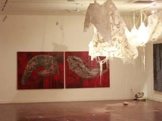 <San 33> solo exhibition @Chungpa Gallery : Installation part by Kim Na Hyun 김나현