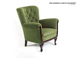 Armchair classic type Lirka Oleh Ann Decor - The Wooden & Recycled Home Klasik