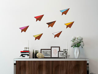 Wood & Formica 'Paper Plane':   by Ava & Bea
