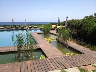Casas de estilo mediterráneo de FLOORBAMBOO Mediterráneo