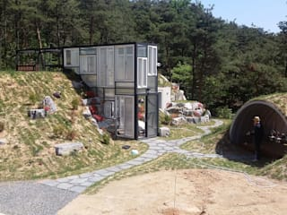 Modern houses by Just-In House(져스틴 하우스) Modern